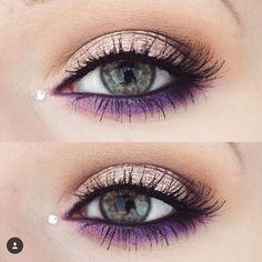 Gorgeous eye makeup idea:                                                                                                                                                                                 More
