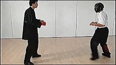 Kung fu front kick, simple and very effective