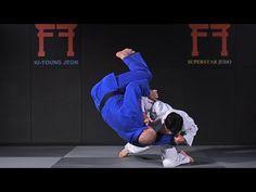 SUPERSTAR JUDO | Korean Judo - Drop knee Tai Otoshi - YouTube