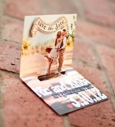 (How awesome are these 3-D save the dates! One Atlantic -Atlantic City, NJ) Our Latest Wedding Faves