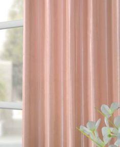 Exclusive Fabrics & Furnishings Blackout Taffeta x Curtain Panel - Pink Rose Gold Curtains, Drapes Curtains, Curtain Brackets, Rose Window, Rose Design, Window Treatments, Absolutely Stunning, Beautiful, Crisp