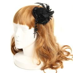 Gothic Lolita hair accessories a la carte ♡ http://www.wunderwelt.jp/products/detail1005.html Hair accessories for more colorful cute directing the Gothic Lolita fashion. ♡ Blog Wunderwelt here ♡ http://www.wunderwelt.jp/blog/english #lolitafashion