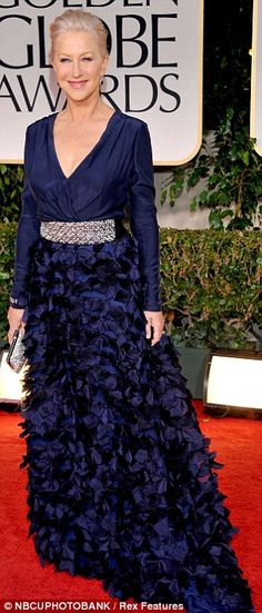 Helen Mirren, aged 67.