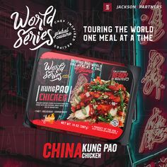 World Series RTE Meals; Globally Inspired. Grab your passport, pack your bags, & travel the world with Jackson & Partners one country at a time. Every new discovery enriches our lives & we are excited to introduce you to our new line of ready-to-eat meals from the US; inspired by China. #readytoeatmeals #worldseriesglobalcuisines #jacksonandpartners #worldseriesglobaltour Burger Recipes, Pork Recipes, Seafood Recipes, Snack Recipes, Eat Meals, Steak Rubs, Green Rice, Homemade Burgers, Spicy Sauce