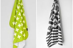 Love this Etsy shop for mod swaddling blankets!