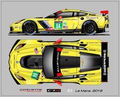 Corvette C7.R Le Mans 2016