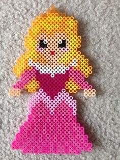 Aurora perler beads by Amy Johnson Castro