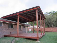 The pergola kits are the easiest and quickest way to build a garden pergola. There are lots of do it yourself pergola kits available to you so that anyone could easily put them together to construct a new structure at their backyard. Curved Pergola, Building A Pergola, Deck With Pergola, Pergola Lighting, Wooden Pergola, Covered Pergola, Pergola Shade, Patio Roof, Gardens