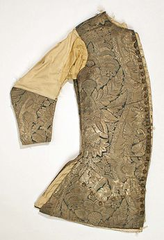 Waistcoat Date: early 18th century Culture: British Medium: silk