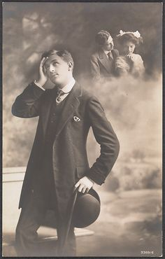 Unknown. [Man Daydreaming about Love], 1910s. The Metropolitan Museum of Art, New York. Twentieth-Century Photography Fund, 2010 (2010.192)