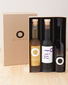 O Olive Oil Balsamic Fig Trio Boxed Gift Set