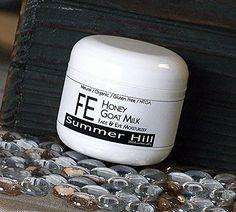 Summer Hill Botanicals FE Honey Goat Milk Face & Eye Moisturizer, 4 ounce Summer Hill Botanicals http://www.amazon.com/dp/B00OVKL99Q/ref=cm_sw_r_pi_dp_7yWsub1SMX0GJ
