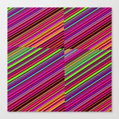 Re-Created Cross No. 23  #Stretched #Canvas by #Robert #S. #Lee - $85.00
