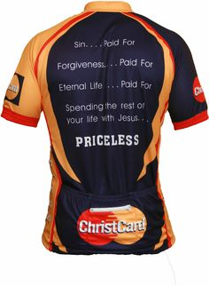 ChristCard Cycling and Biking Jersey
