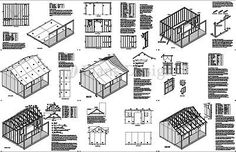 14-x-16-Cape-Code-Storage-Shed-with-Porch-Plans-P81416-Free-Material-List