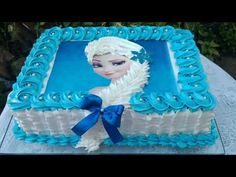 Bolo da Elsa: 80 Modelos Fantásticos Para se Inspirar! Frozen Birthday Party, Birthday Parties, Pastel Frozen, Elsa Frozen, Cake Elsa, Bolo Elsa, Torta Paw Patrol, Elsa Halloween Costume, Cool Whip Cookies