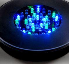 LED Black Vase Lighting 6in (programmable)