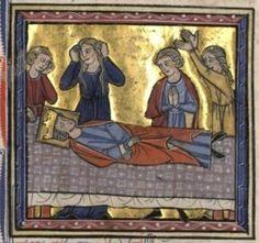 Morte do rei Amaury, pai de Balduíno IV.