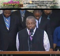"Bishop Ellis is ready to preach his message ""God's plans for my life"" Part 4"
