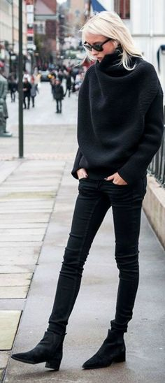 all black #style