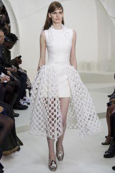 Le défilé Christian Dior haute couture printemps-été 2014|13