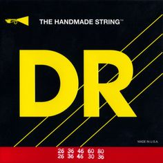 DR Strings - Bajo Quinto Strings - Loop End 10 String - BQ-10 - 26-80
