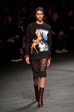 Défilé Givenchy automne-hiver 2013-2014, Paris
