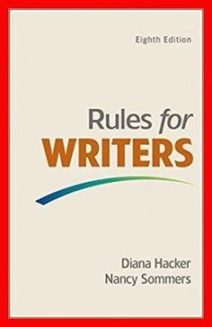 Solution manual for managing information technology 7th edition rules for writers 8th edition by by diana h and nancy sommers pdf ebook fandeluxe Image collections