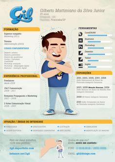 Resultado do 2º desafio do currículo! | Choco la Design - via http://bit.ly/epinner