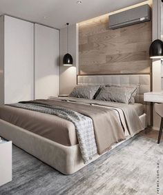 Covet paris bedroom accent wall bedroom, bedroom decor и hom Master Bedroom Interior, Modern Master Bedroom, Modern Bedroom Design, Home Design Decor, Master Bedroom Design, Contemporary Bedroom, Home Bedroom, Bedroom Decor, Bedroom Designs