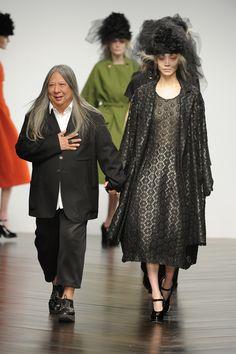 #JohnRocha #AW13 #catwalk #readytowear #LFW #london #fashion #style #finale #SooJoo