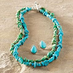 Navajo Turquoise Earrings | National Geographic Store