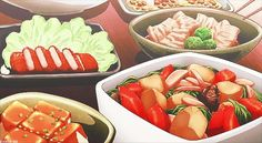 delicious food in anime - Google Search