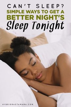 Need more or better sleep? These 21 tips to get a better night's sleep work! Health And Beauty Tips, Health And Wellness, Health Tips, Health Fitness, Women's Health, Natural Sleep Aids, Sleep Remedies, Can't Sleep, Benefits Of Exercise