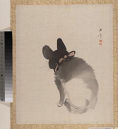 Kawabata Gyokushô (Japanese, 1842–1913). Cat, Meiji period (1868–1912). Japan. The Metropolitan Museum of Art, New York. Charles Stewart Smith Collection, Gift of Mrs. Charles Stewart Smith, Charles Stewart Smith Jr., and Howard Caswell Smith, in memory of Charles Stewart Smith, 1914 (14.76.61.87)