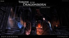 SKYRIM: Dovahndor - Throne of the Dragonborn by okiir.deviantart.com on @DeviantArt