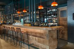 Restaurant Design, Restaurant Bar, Back Bar Design, Bar Interior Design, Bar Design Awards, Divider Design, Retail Shop, Decoration, Interior Inspiration