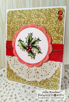 Power Poppy - The Blog: Inspire Me Monday: Christmas Goodies!