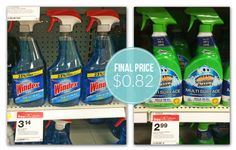 Windex Glass Cleaner, Only $0.82 at Target!