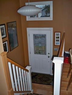 1000 images about raised ranch reno on pinterest split for Raised ranch entryway remodel