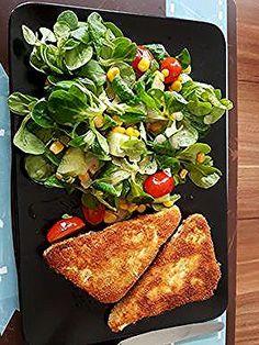 Gebackener Feta auf gemischtem Salat mit Honigdressing, ein sehr leckeres Rezept aus der Kategorie Snacks und kleine Gerichte. Bewertungen: 47. Durchschnitt: Ø 4,7. Salad Recipes Healthy Lunch, Salad Recipes For Dinner, Chicken Salad Recipes, Mango Salat, Feta Salat, Creamy Cucumber Salad, Creamy Cucumbers, Salads For A Crowd, Food For A Crowd