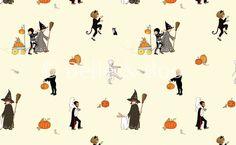 Halloween Fabric 1 Metre by belleandboo on Etsy