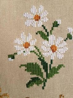 Flower Buds free cross stitch