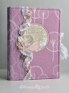 "Блокнот ""Птичьи трели"" Scrapbook Cover, Scrapbook Albums, Scrapbooking, Beautiful Notebooks, Handmade Notebook, Creative Journal, Lace Ribbon, Journal Covers, Smash Book"