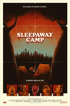 Sleepaway Camp Poster by  http://phantomcitycreative.com/?our-work=sleepaway-camp