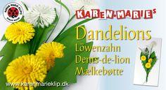 Lern how to make Paper Dandelions - nice for summer. Paper Passion 3 - Art nr. 95227 Paper Passion 3 PACK - Art nr. 100-03 Strips/Streifen/Strimler: Bright Y...