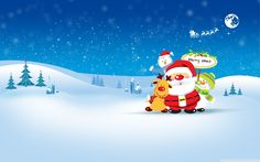 Various Christmas images for your desktop [...]