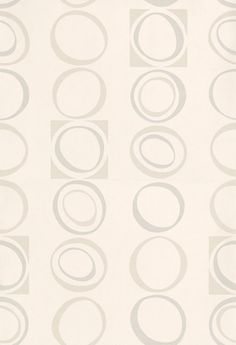 Hepworth+(0280HEPEARL)+-+Little+Greene+Wallpapers+-+A+stylish+70's+design+geometric+pattern+of+ovals+and+squares.+Shown+in+the+Pearl+silver+grey+colourway.+Please+request+a+sample+for+true+colour+match.