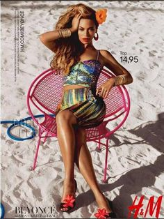 Beyonce sizzles in hot new H ads.