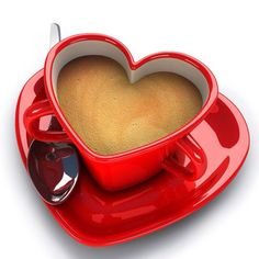 I don't drink coffee but tea will be wonderful in this. Heart